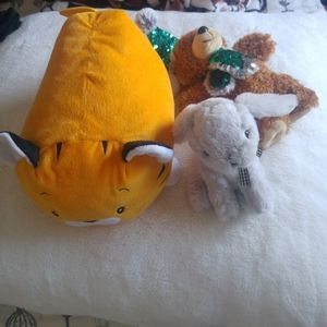 FREE w/$25 Purchase, Set of 3 Stuffed Animal Toys